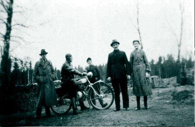 Johan andersson och hans andra hustru hilma smedstorp