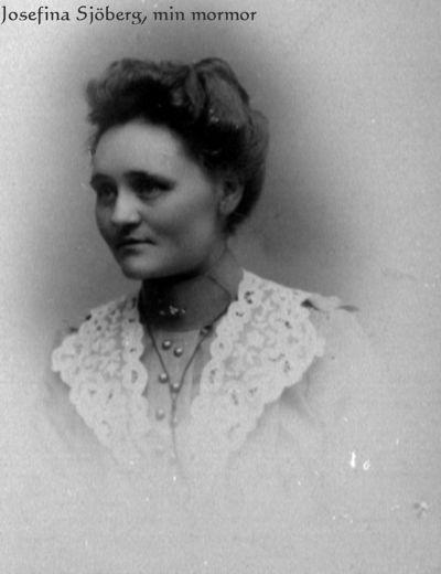 Josefina sjoberg i narback