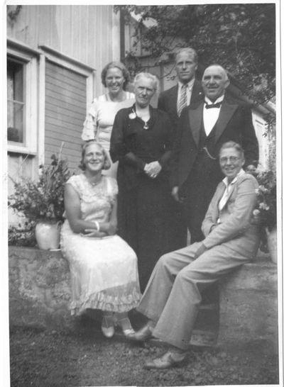 Jarnhandlare emil johansson med familj
