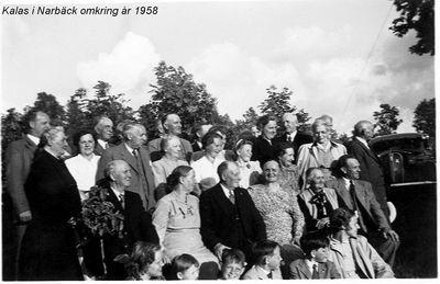 Kalas i narback 1958