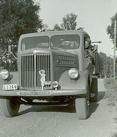 Leif fracke kor lastbil