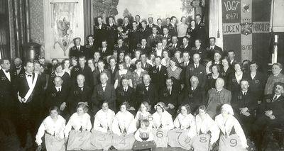 Logen herkules 50 ars jubileum 1933