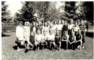 Avgangsklass 1947 odeshogs skola