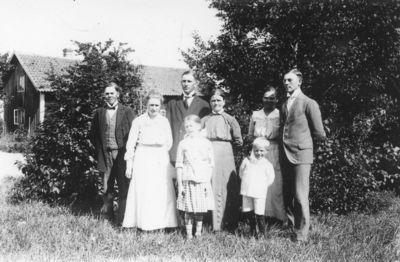 Matilda hansson med familj