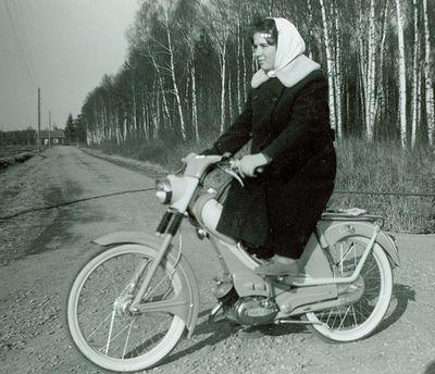 Mopedist yvonne jakobsson