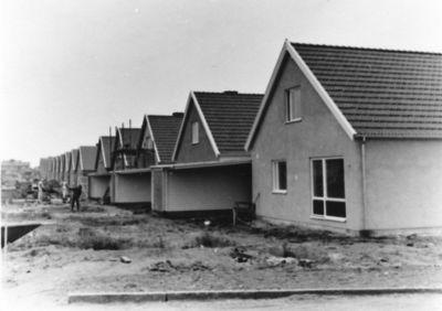 Radhus vid aspvagen april 1965
