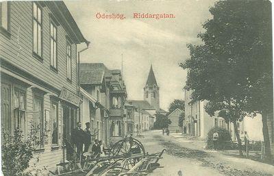 Riddaregatan 1910