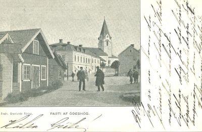 Riddaregatan odeshog 1902