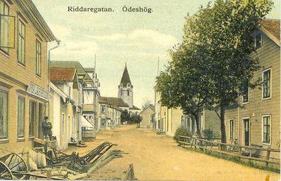 Riddaregatan odeshog 1908
