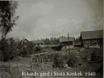 Rikards gard omkring 1940