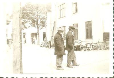 Robert hagstedt och frans adell 1938