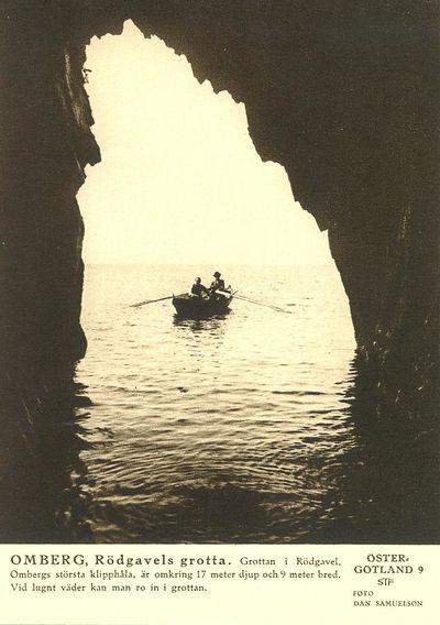 Rodgavels grotta omberg