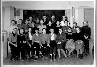Skolklass odeshogs skola