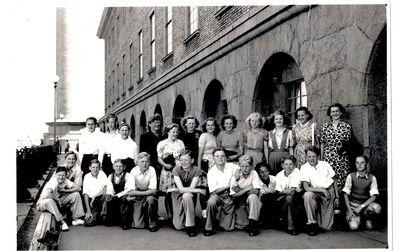 Skolresa till goteborg 1947