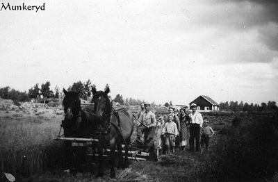 Skordearbete i munkeryd 1933