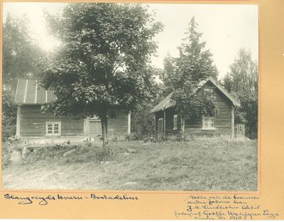 Slangeryd kvarn bostadshus 1910