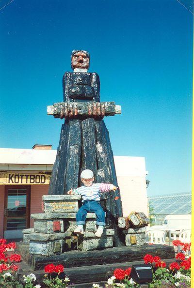 Staty av handelsman johanna