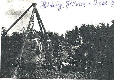 Stenarbete i mansabola