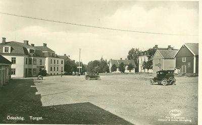 Stora torget omkring 1932