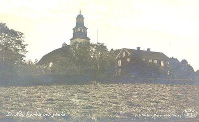Stora aby kyrka och skola