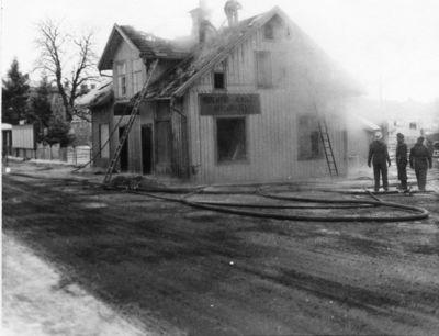 Branden i axens fastighet vintern 1961