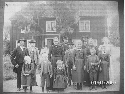 Svenssons aby storgard 1900
