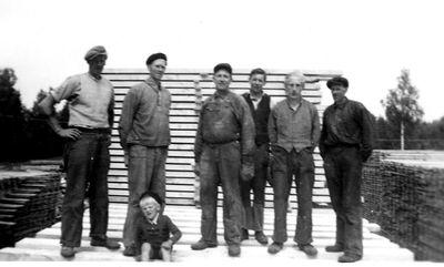 Sagarlaget ojan i borjan av 1950 talet