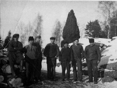 Sagarlaget ojan omkring 1940