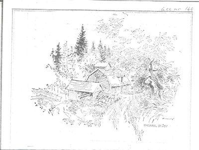 Teckning av nykvarn stora aby