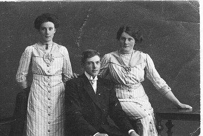 Tre syskon norrgarden