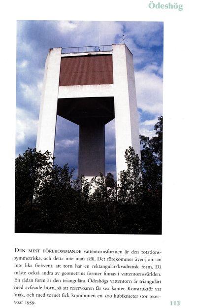 Vattentornet i odeshog