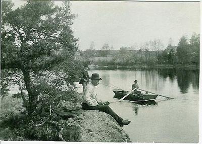 3 fiskande man