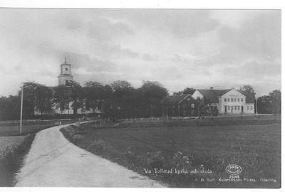 Vastra tollstad skola och kyrka