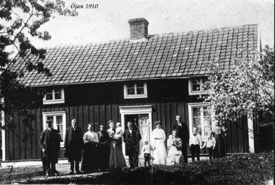 Ojans norrgard 1909 eller 1910