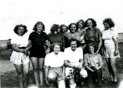 Hastholmens damlag i fotboll 1949