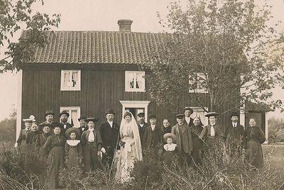 Brollop 1907 for hulda och karl