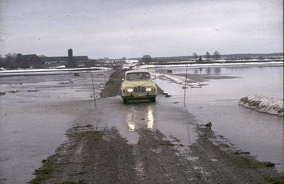 Ulf hermansson i sin bil vid ramstad