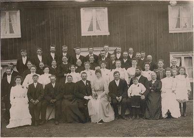 Brollop 1907 i skalaby