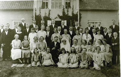 Brollop i borstabol 1926