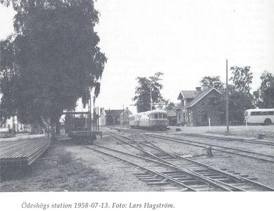 Odeshogs station 1958 07 13