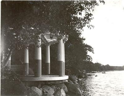 Eko templet vid ellen keys strand
