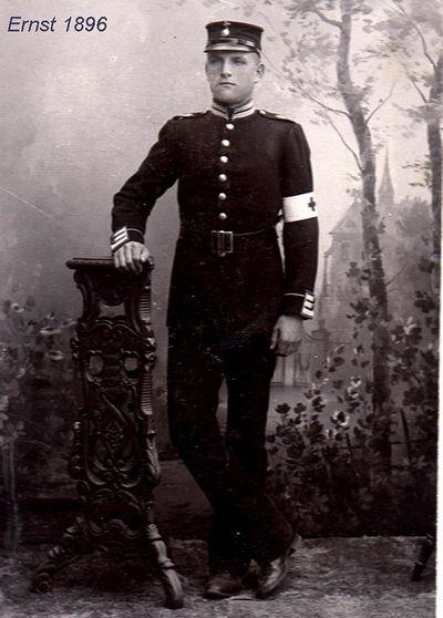 Ernst johansson ojan i uniform
