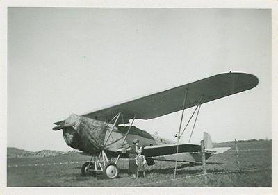 Flygplan pa hastholmens flygfalt