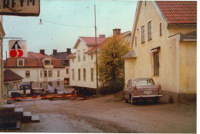 Flyttning av bankhuset 1960 klubbgatan