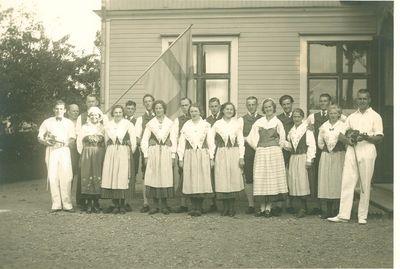 Folkdanslaget omkring 1935 40