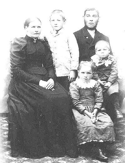 Frans andersson och alida med barn