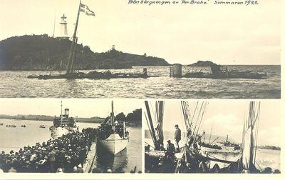 Fran bargningen av per brahe sommaren 1922