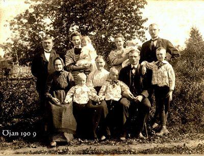 Gruppfoto fran ojan 1909