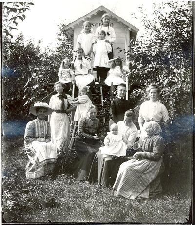 Gruppfoto taget i serland