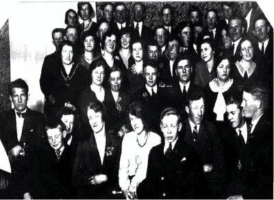 Gruppfoto vid eskil anderssons 20 arsfest